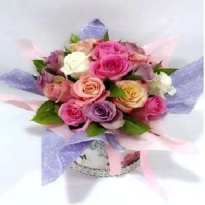 Salon Des Fleurs-Rainbow Roses