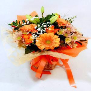 Salon Des Fleurs-Orange Water Bouquet