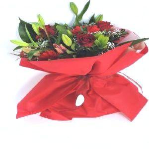 Salon Des Fleurs-Red Combination