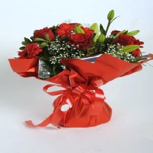 Salon Des Fleurs-Red Mixed Bouquet