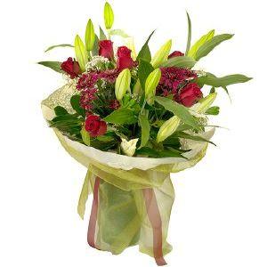 Salon Des Fleurs-Red Velvet Bouquet