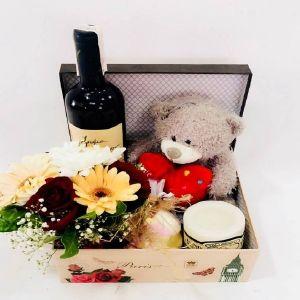 Salon Des Fleurs-Romantic Gift Box