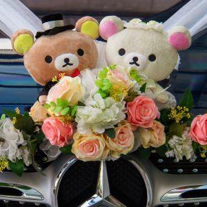 Salon Des Fleurs Bouquet With Teddy