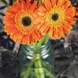 Salon Des Fleurs Orange Water Bouquet