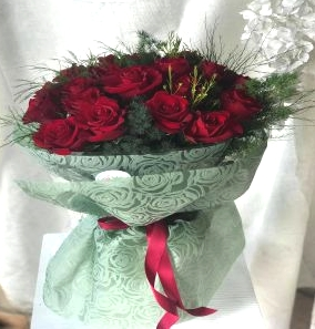 Salon Des Fleurs-Twenty Red Roses
