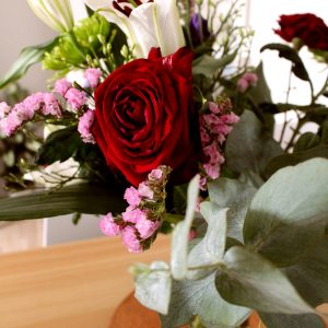 Salon Des Fleurs Red Mixed Bouquet