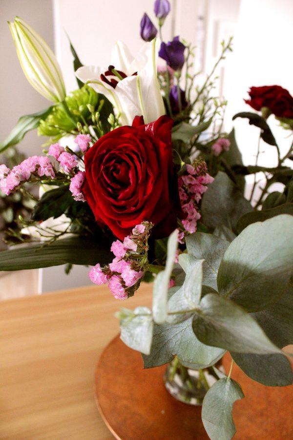 Salon Des Fleurs Red Mixed Bouquet