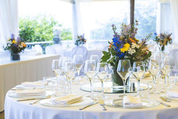 Salon Des Fleurs Table Decoration