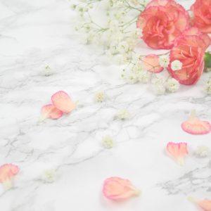 Salon Des Fleurs White and Pink Bouquet