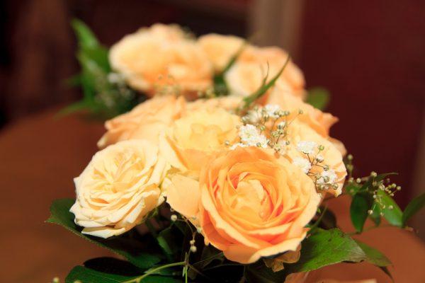 Salon Des Fleurs Yellow Roses Bouquet