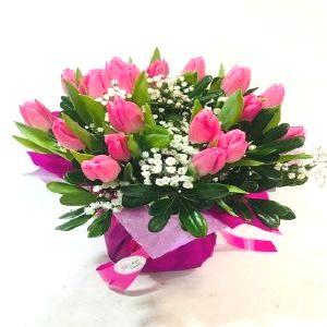 Salon Des Fleurs-Seasonal Pink Tulips