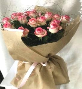 Salon Des Fleurs-Twenty Pink Roses