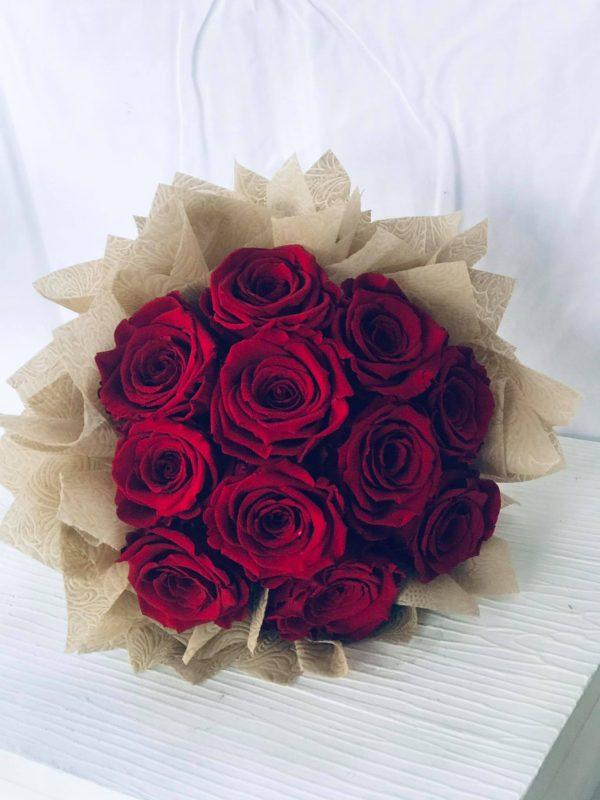Forever Roses Bouquet-Salon Des Fleurs