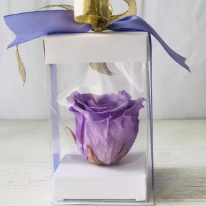 Single Lavender Forever Rose-Salon Des Fleurs